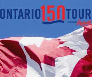 Ontario 150 tour
