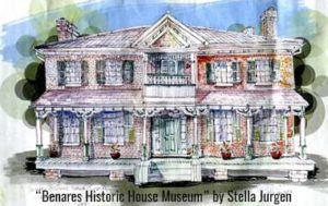 """Benares Historic House Museum"" by Stella Jurgen"