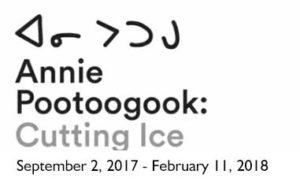 Annie Pootoogook: Cutting Ice