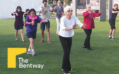 Leisure and Recreation at THE BENTWAY for Free Yoga and Tai Chi
